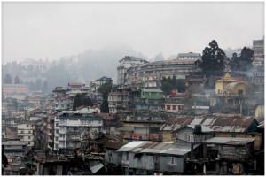 Darjeeling view of the city