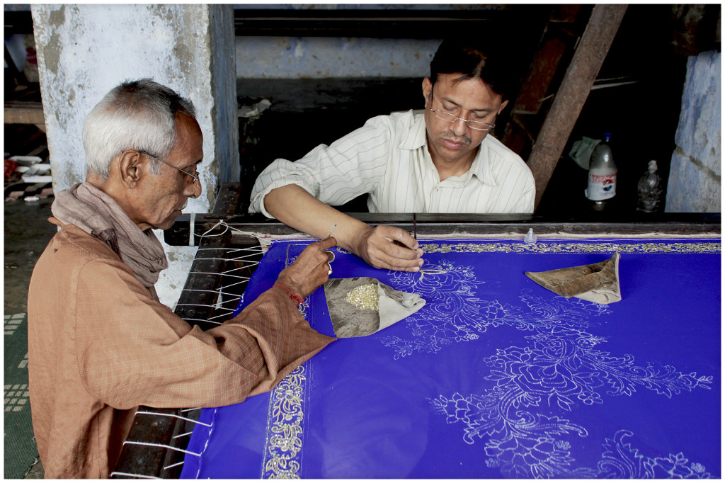 Artisans in Lucknow