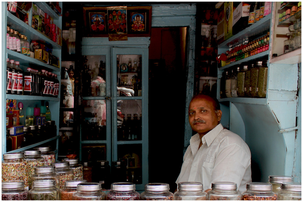 Shopkeeper in Lucknow