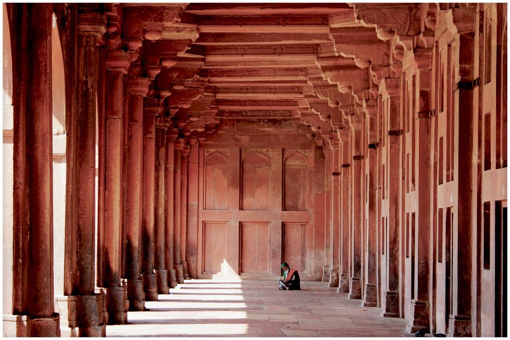 Fatehpur Sikri hallway