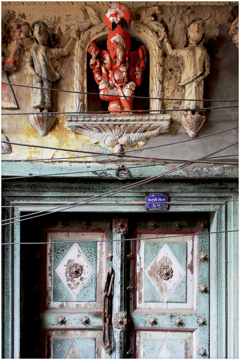 A door in Lucknow