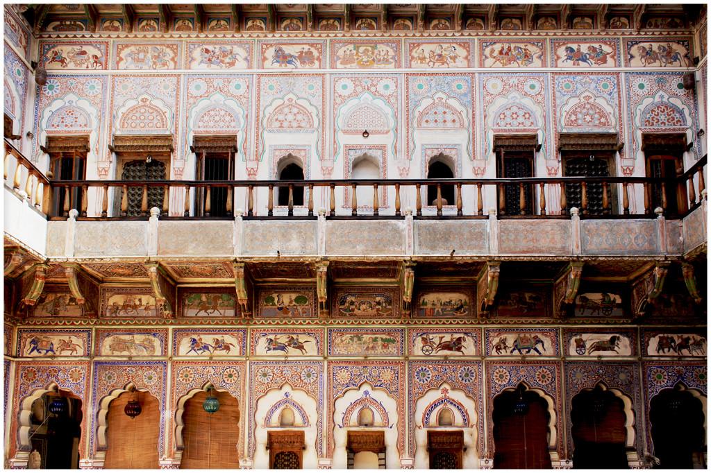 Haveli courtyard