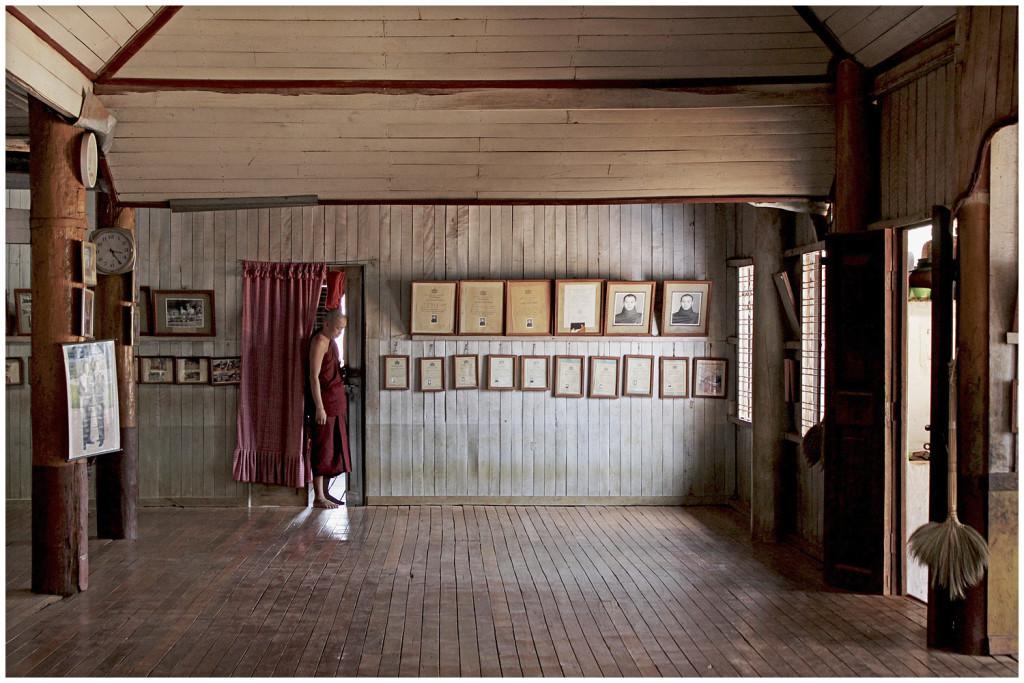 Wooden monastery in Pyin Oo Lwin