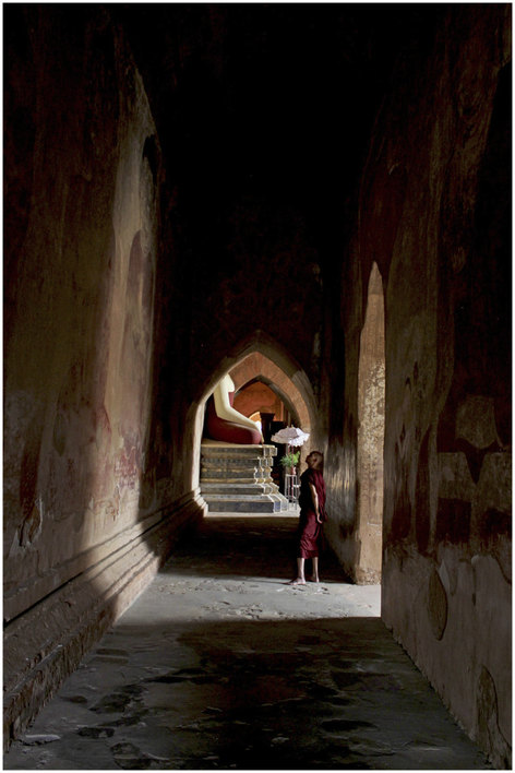 Inside the temples of Bagan