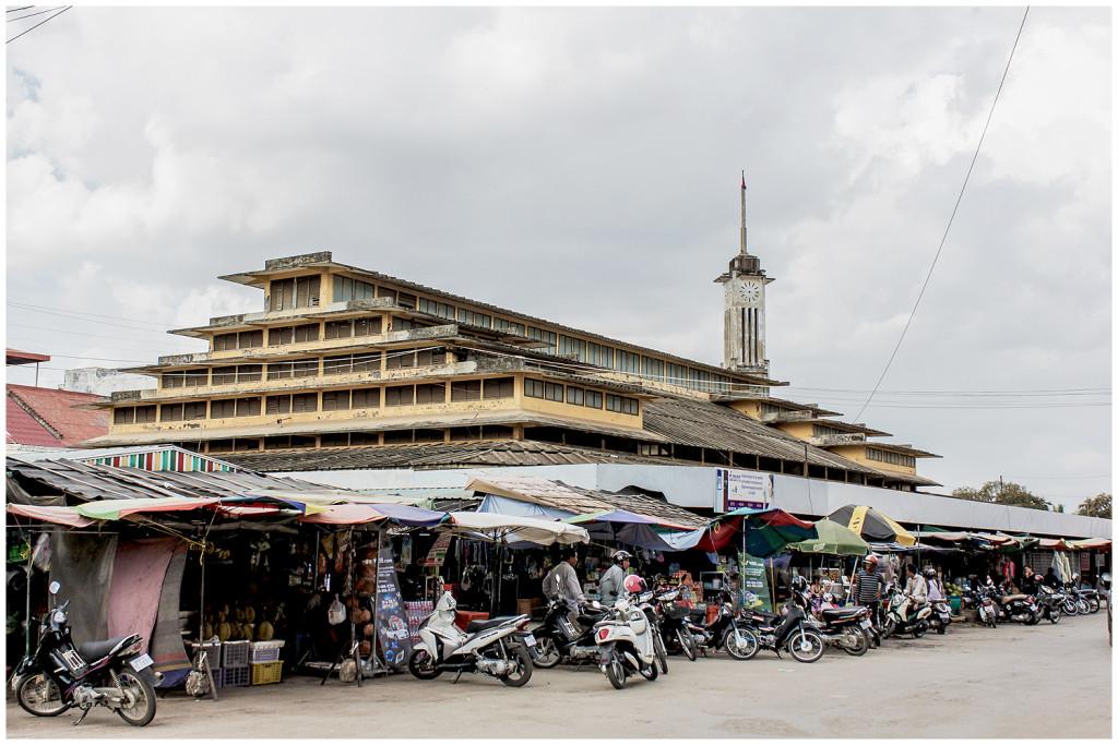 Battambang's market