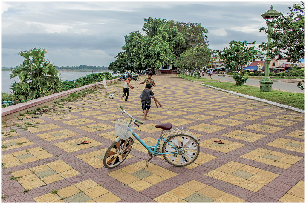 Kampong Cham boardwalk