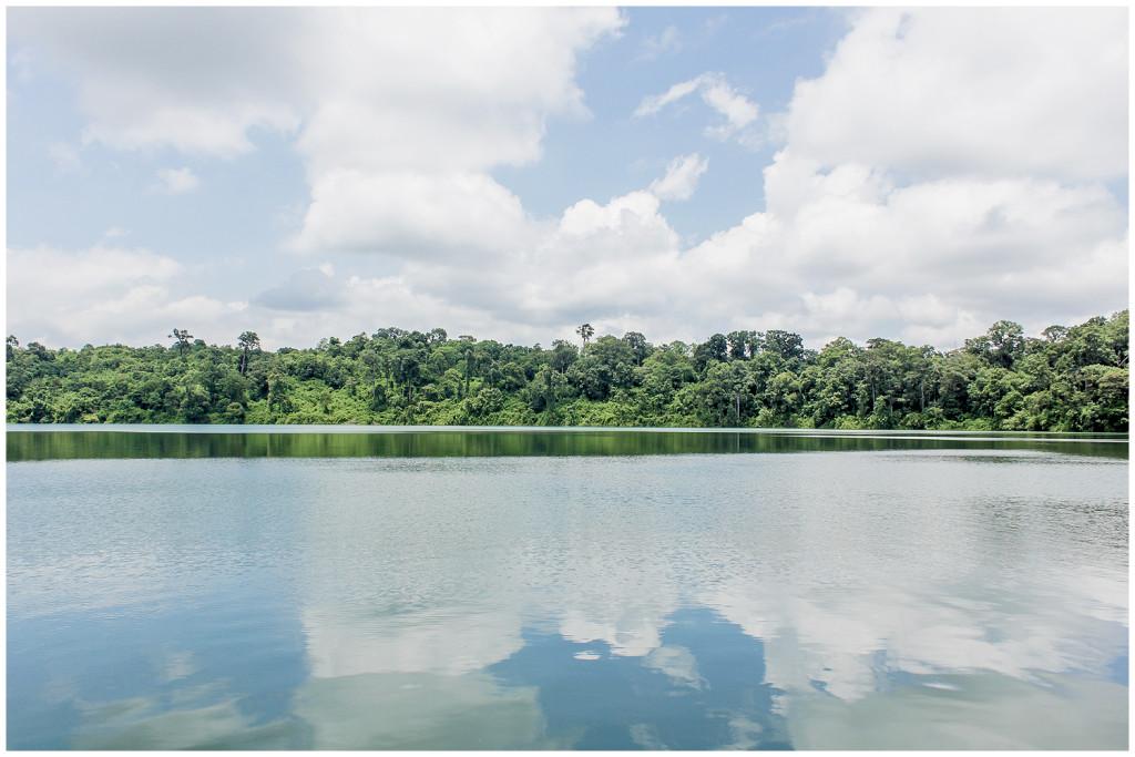 Yeak Laom Volcanic Lake in Banlung