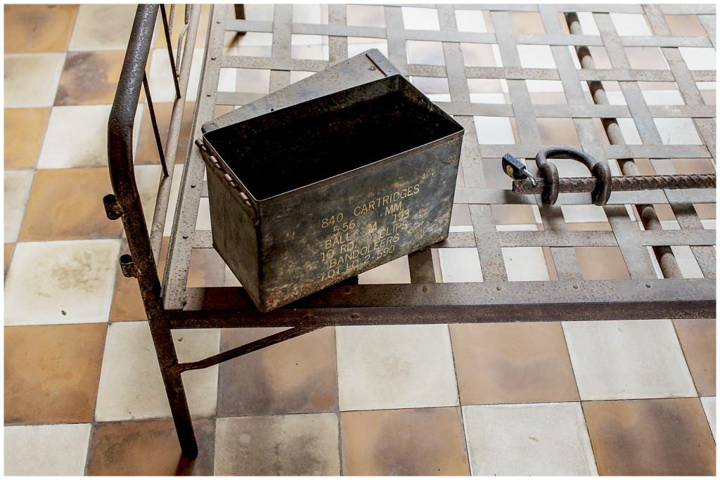 Tuol Sleng torture bed