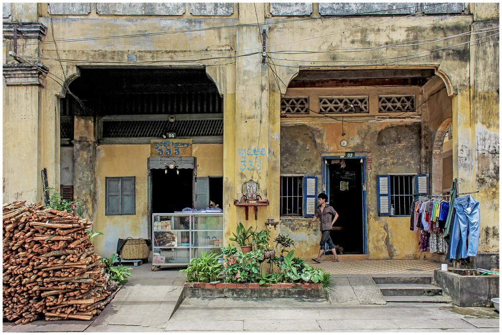 Kampot town
