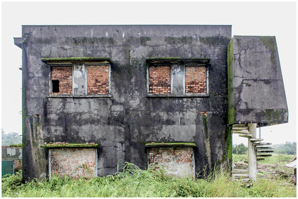 Old police station on Bokor HIll