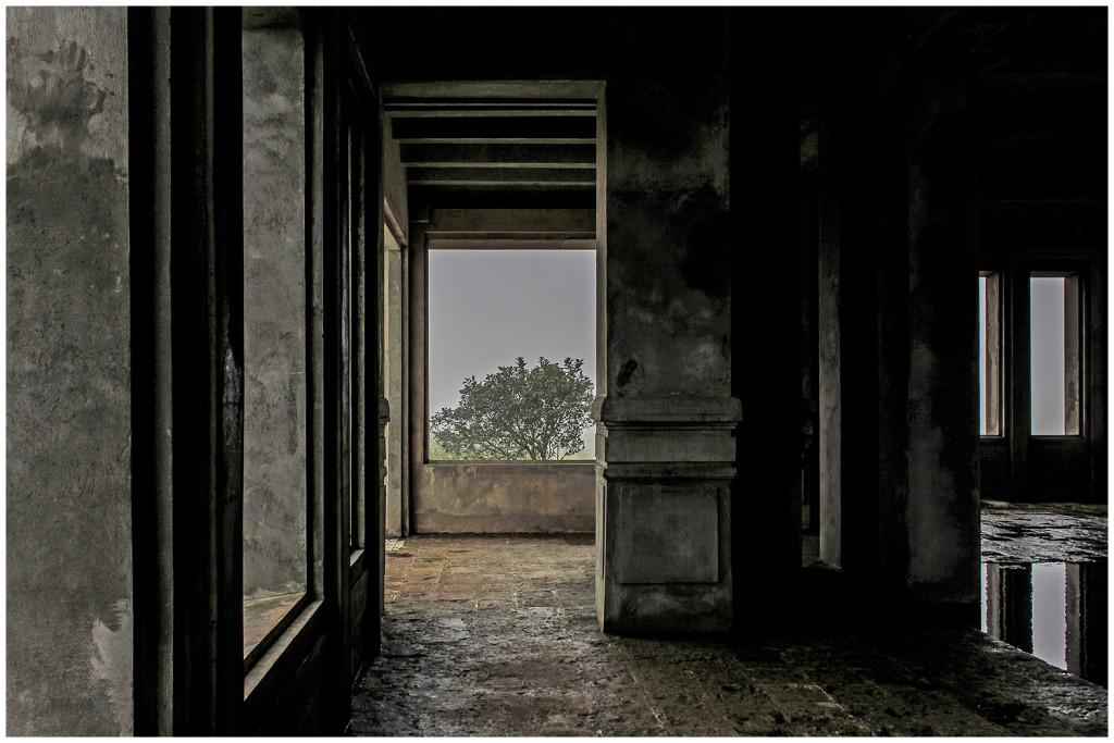 Inside Bokor Hill Hotel