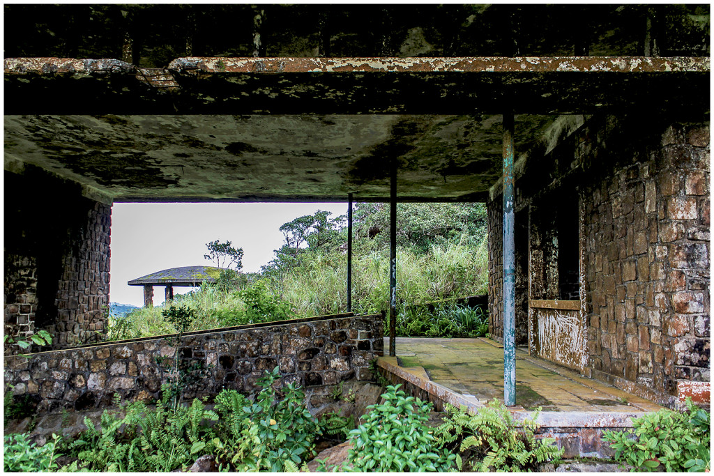 Black Palace on Bokor Hill