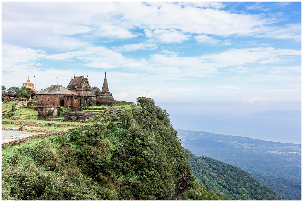 Temple on Bokor Hill