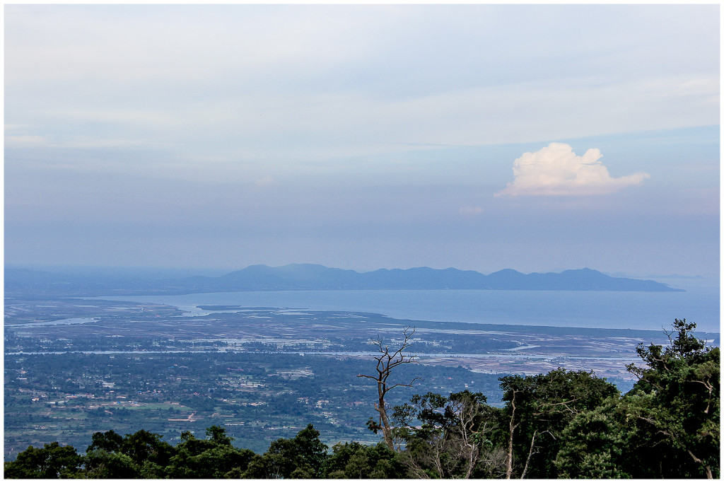 The view from Bokor Hill